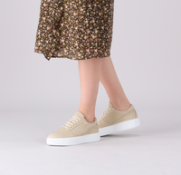 Beige DEABUSED Lage sneakers 7713  - medium