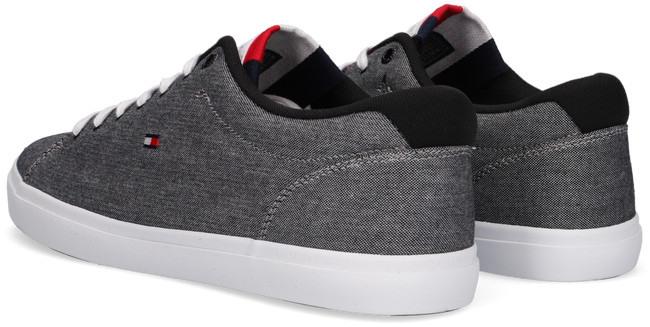 Grijze TOMMY HILFIGER Lage sneakers ESSENTIAL CHAMBRAY VULCANIZED - large