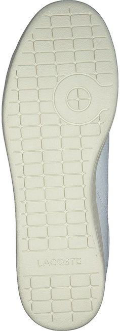 Witte LACOSTE Sneakers CARNABY EVO HEREN  - large