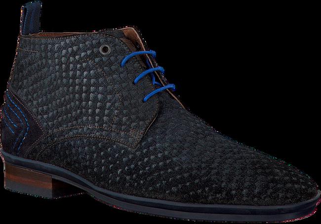 Blauwe FLORIS VAN BOMMEL Nette schoenen 10960  - large