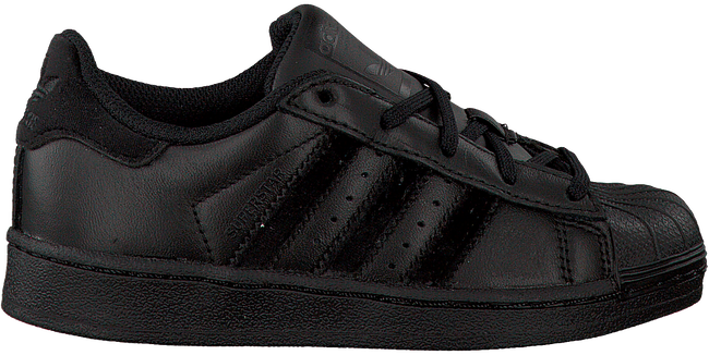 Zwarte ADIDAS Sneakers SUPERSTAR KIDS  - large