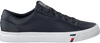 Blauwe TOMMY HILFIGER Lage sneakers CORPORATE MEN  - small