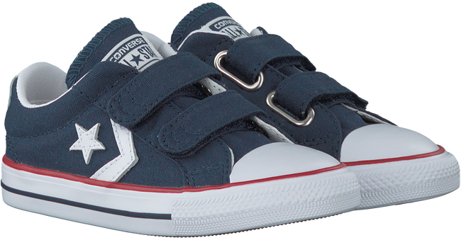 blauwe converse sneakers starplayer 3v