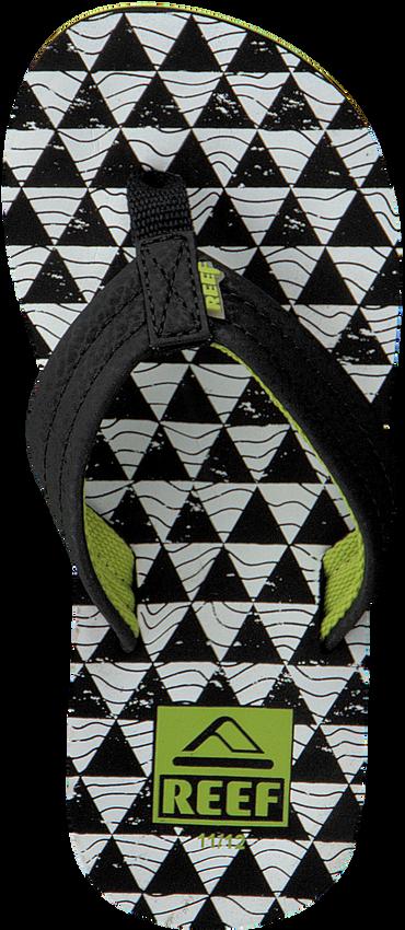 Zwarte REEF Slippers R2345  - larger