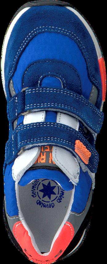 Blauwe DEVELAB Lage sneakers 41389  - larger