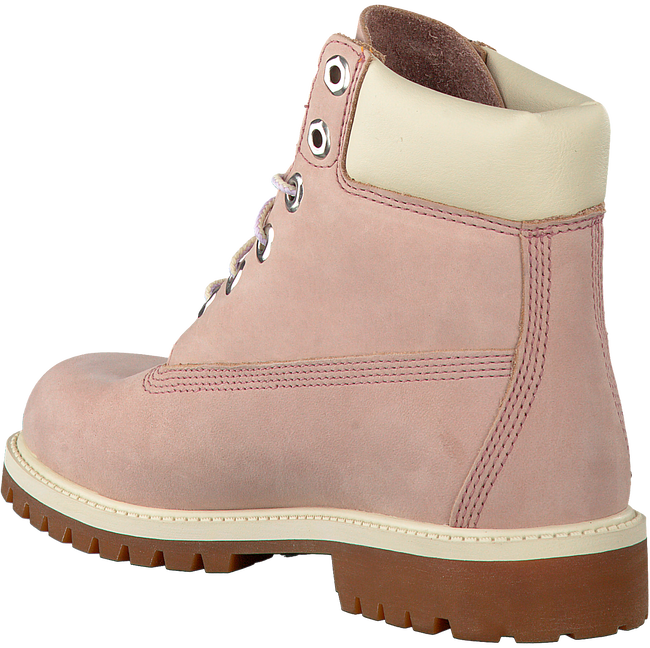 Roze TIMBERLAND Enkelboots 6IN PRM WP BOOT KIDS  - large