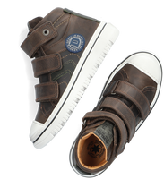 Groene DEVELAB Hoge sneaker 41947  - medium