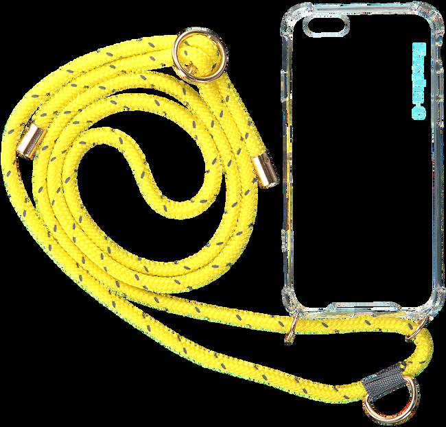 Gele KASCHA-C Telefoonkoord PHONECORD IPHONE 7+/8+  - large