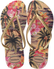 Witte HAVAIANAS Slippers SLIM TROPICAL - small