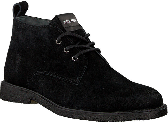Zwarte BLACKSTONE Veterschoenen QM82 - large