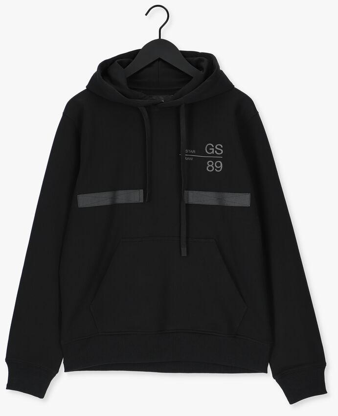 Zwarte G-STAR RAW Sweater A613 - HEAVY SHERLAND SWEAT R - larger