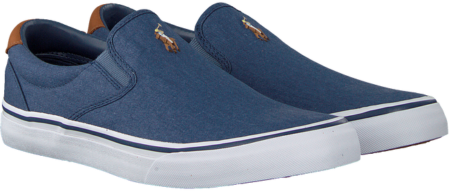 Blauwe POLO RALPH LAUREN Slip-on sneakers THOMPSON  - large