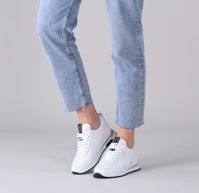 Witte VIA VAI Lage sneakers NORA SAM  - large
