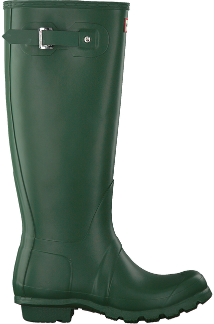 Groene HUNTER Regenlaarzen WOMENS ORIGINAL TALL - large