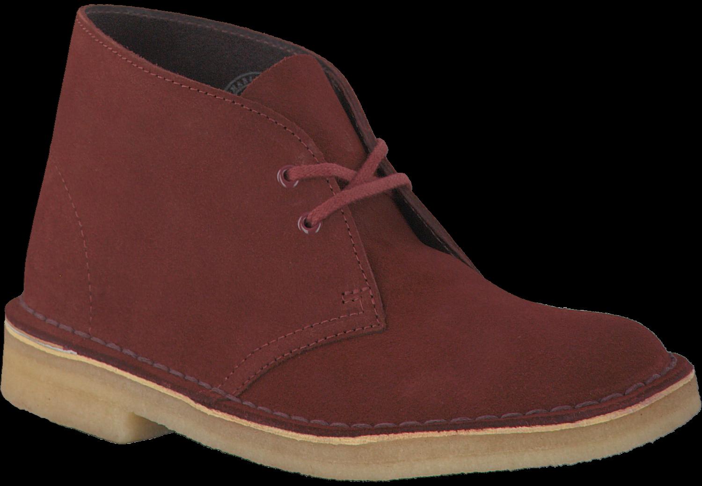 Bordeaux-rouge Chaussures Clarks Uv1obb