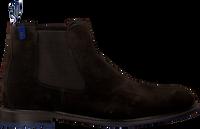 Bruine FLORIS VAN BOMMEL Chelsea boots 10902  - medium