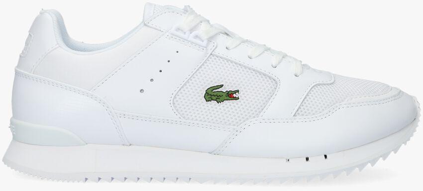 Witte LACOSTE Lage sneakers PARTNER PISTE  - larger
