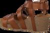 Cognac RED-RAG Sandalen 78080  - small