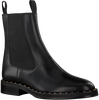 Zwarte NOTRE-V Chelsea boots B4254 LENA - small