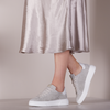 Grijze VIA VAI Lage sneakers JUNO UNI  - small