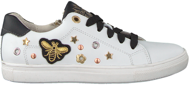 Witte BRAQEEZ Sneakers LEXI LOUWIES  - large