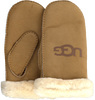 Camel UGG Handschoenen SHEEPSKIN LOGO MITTEN  - small