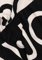 Zwarte LIU JO Sjaal LOGO SCARF  - medium