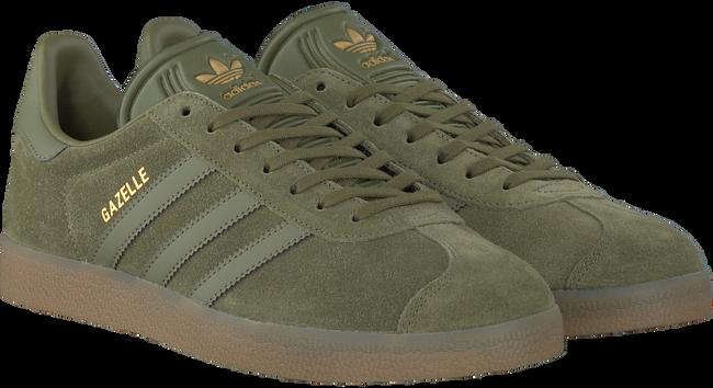 groene adidas sneakers gazelle heren