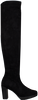 Zwarte RAPISARDI Overknee laarzen DORIS  - small