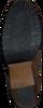 Bruine SHABBIES Enkellaarsjes 183020030  - small
