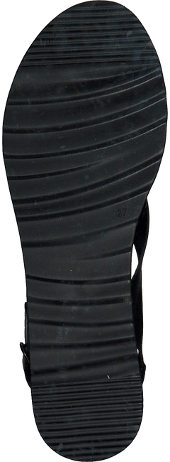 Zwarte RED RAG Sandalen 78052 - large