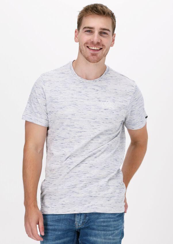 Grijze PME LEGEND T-shirt SHORT SLEEVE R-NECK INJECTED S - larger