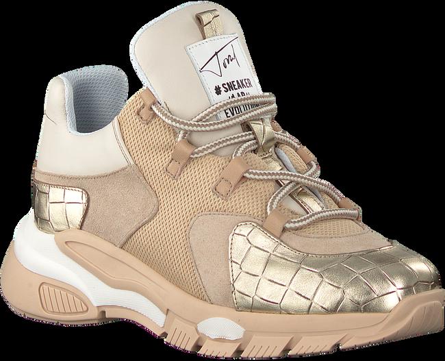 Beige TORAL Lage sneakers 11101  - large