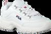 Witte FILA Sneakers STRADA LOW KIDS  - small