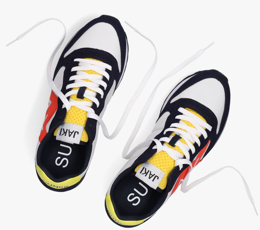 Witte SUN68 Lage sneakers JAKI PARTY TIME MEN  - larger