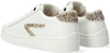 Witte HUB Lage sneakers HOOK LW CHEETA - small