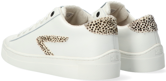 Witte HUB Lage sneakers HOOK LW CHEETA - large
