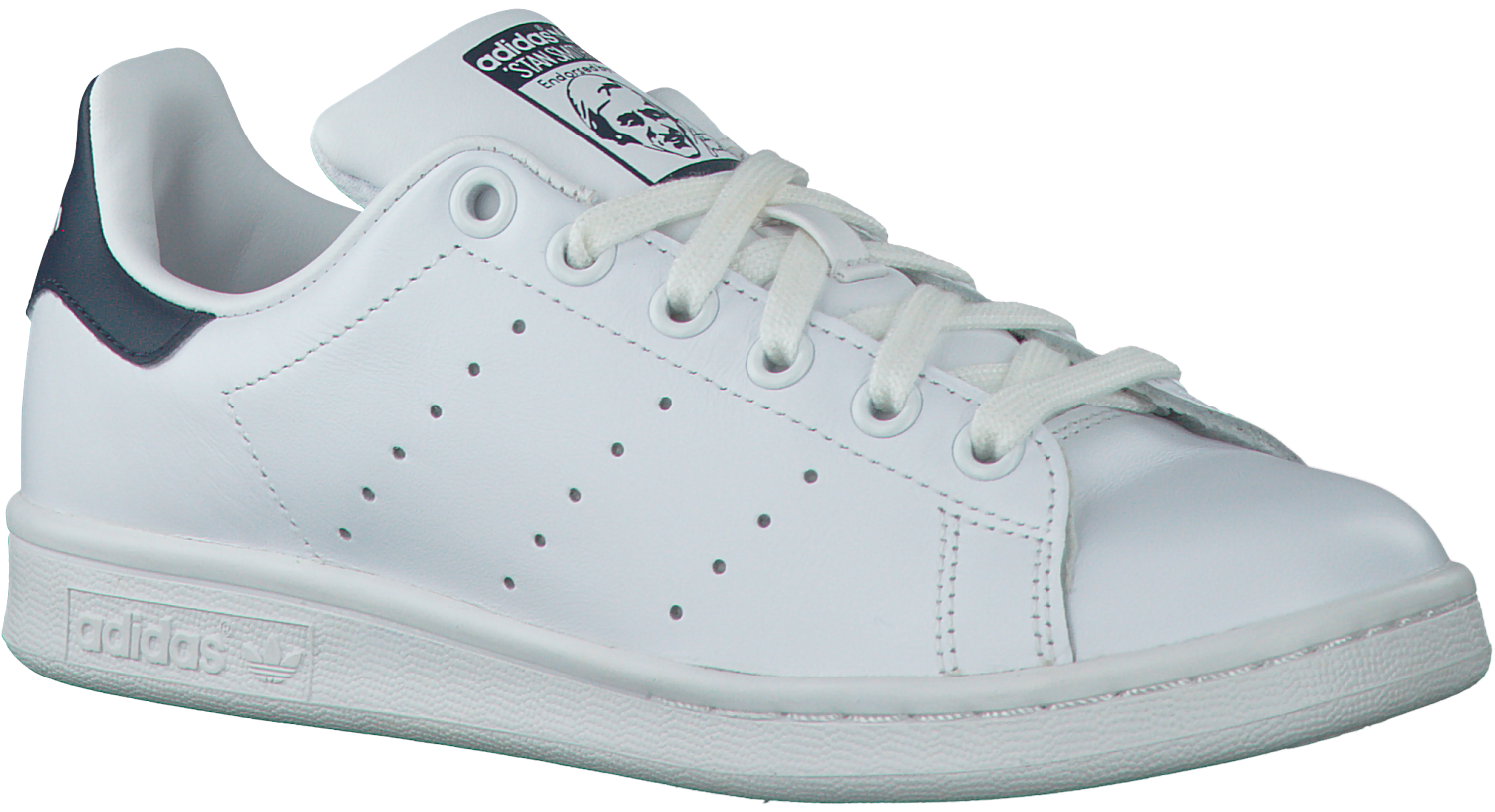 adidas stan smith wit met roze