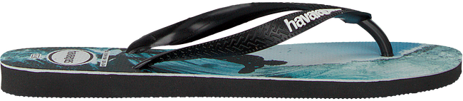 Zwarte HAVAIANAS Slippers TOP PHOTOPRINT  - large