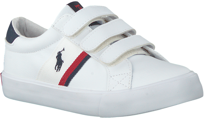 Witte POLO RALPH LAUREN Lage sneakers GAFFNEY EZ  - large