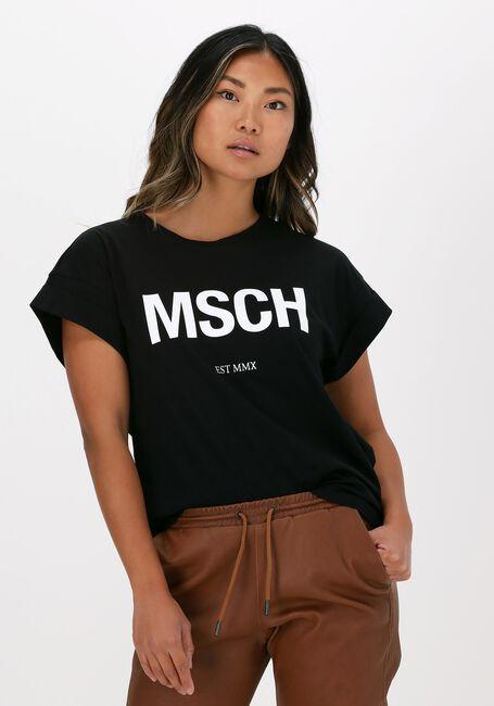 Zwarte MSCH COPENHAGEN T-shirt ALVA MSCH STD TEE - large