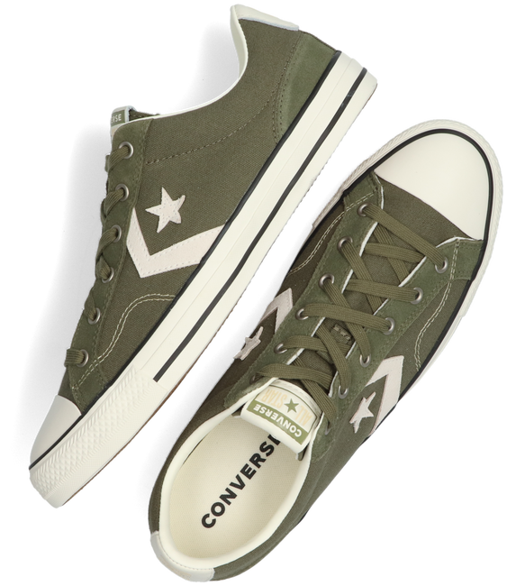Groene CONVERSE Lage sneakers STAR PLAYER OX HEREN  - large