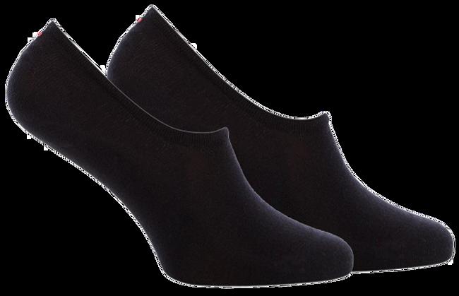 Zwarte TOMMY HILFIGER Sokken TH WOMEN FOOTIE 2P  - large