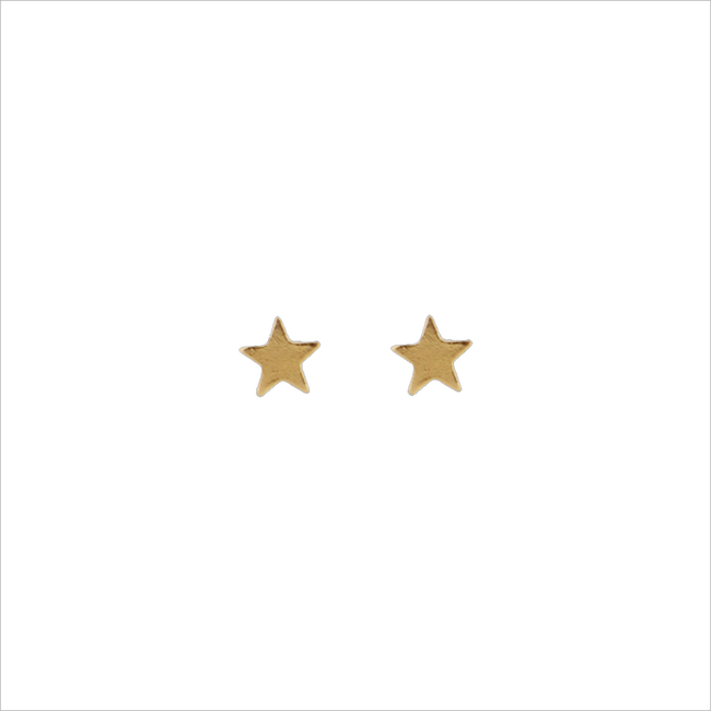 ALLTHELUCKINTHEWORLD OORBELLEN PETITE EARRINGS STAR - large