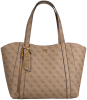 Bruine GUESS Handtas NAYA TRAP TOTE  - medium