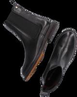 Zwarte FRED DE LA BRETONIERE Chelsea boots 181010123  - medium