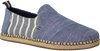 Blauwe TOMS Espadrilles DECONSTRUCTED ALPARGATA MEN  - small