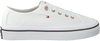 Witte TOMMY HILFIGER Sneakers CORPORATE FLATFORM - small