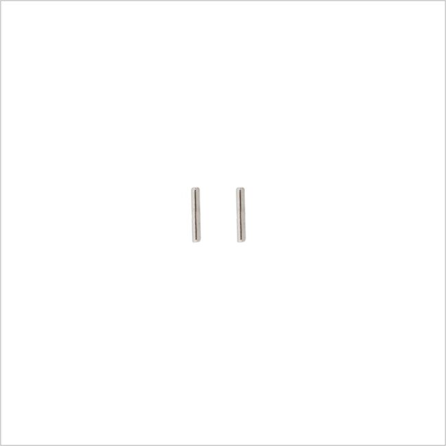 Zilveren ATLITW STUDIO Oorbellen PETITE EARRINGS STRIP - large