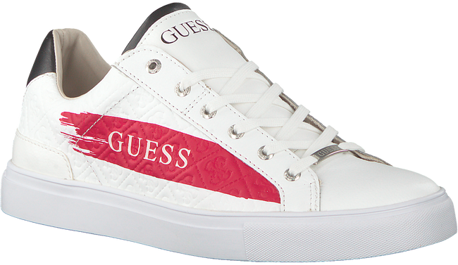 Witte GUESS Sneakers LUISS  - large